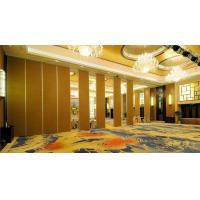 China Sliding Melamine Surface Movable Partition Walls With Aluminium Track 6m Height wholesale