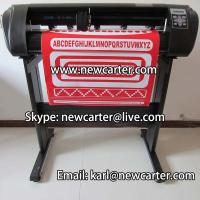 China Adhesive Vinyl Sticker Cutter Cutting Plotter With ARMS 24 Vinyl Cutter With Contour Cut wholesale