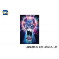 China High Resolution Lenticular Greeting Cards Movie Star Photo Eco - Friendly Material wholesale