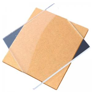 """China Clear Transparent Sheet 1/2"""" 3mm 5mm Plastic Board A3 A4 PMMA Lucite Plate Cast wholesale"""