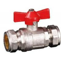 China Brass Compression Ball Valve (YED-A1016) wholesale