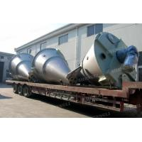 China Vertical Type Conical Screw Blender , Mild Steel Double Screw Conical Mixer wholesale