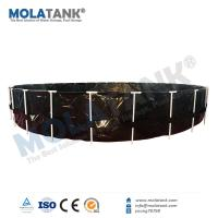 China Molatank Soft RAS Fish Farming Water Tank with Ornaments and Air Blower on Hot Sale wholesale