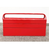 """China 21"""" SPCC Cold Steel Three Layer Metal Cantilever Toolbox Powder coated wholesale"""
