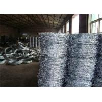 China High Security  Razor Spiral Barbed Wire Fence  Hot Dipped Galvanized Barbed wholesale