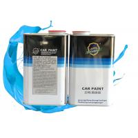 China Low Smell Matte Black Car Paint , High Solubility Uv Resistant Clear Coat Automotive Use wholesale