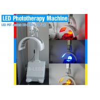 China LED beauty machine with two panels RED BLUE YELLOW INFRARED led pdt light on sale