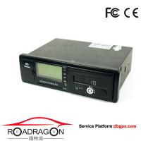 China Black Vehicle Traveling Driving Recorder GPS device support GSM GPRS communication modes wholesale
