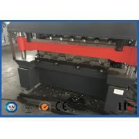 China Touch Screen Double Layer Roll Forming Machine , Roof Tiles Making Machine on sale
