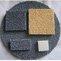 China Reduce Production Cost Ceramic Foam Filter Improve Casting Mechanical Properties wholesale