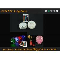 16 Color Changing RGB Rotating Light Base For Cups Beer / Party Club , DMX905 Manufactures