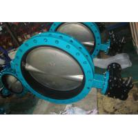 China High Performance Butterfly Valves With Tamper Switch Easy To Install wholesale
