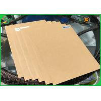 China Grade AA 200g 250g 300g 350g 400g Solid Board Kraft Liner Paper With FSC Certification wholesale