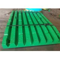 China Manganese Steel Jaw Plate For Crusher With Sodium Silica Sand Process wholesale