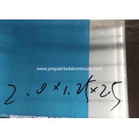 Buy cheap 2mm 6060 - T6 Aluminum Flat Sheet With Protective Film from wholesalers