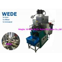 China 1 Motor Vertical Electric Motor Winding Machine , Automatic Power Transformer Winding Machine wholesale