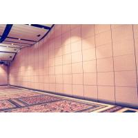 China Multi Color Hotel Movable Partition Walls Aluminium Frame Leather Surface wholesale