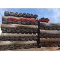 "China API 5L GRB ERW PIPES OF CARBON STEEL WITH SIZE OF 10 INCH *SCH80 & 8"" X SCH40 USED FOR FLUID PROJECT OF BLACK PAITING wholesale"