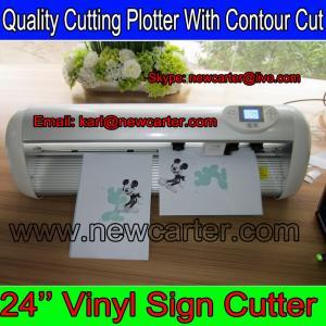 China Premium Cutting Plotter With Optic Sensor CT630H Vinyl Cutter Contour Cutting Plotter 24'' wholesale