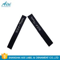 China Garment Woven Clothing Label Tags Satin / Silk Printing Fast - Delivery wholesale