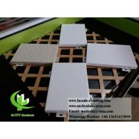 China Architectural facade system Aluminium wall clad panels powder coated exterior use wholesale