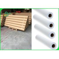 China 24 Inch 36 Inch 80gsm Plotter Paper For Garments Industry Wide Format Printer on sale