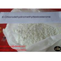 Buy cheap White Oral Anabolic Powder 4- Chlorodehydromethyltestosterone / Turinabol For from wholesalers