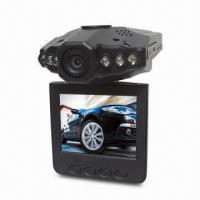 China HD Car Black Box with Night Vision, Wide Viewing Angle, Rotatable Screen, High-speed Recording wholesale