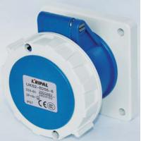 China Multi Color Industrial Power Socket / Industrial Receptacles Protection Degree IP67 wholesale