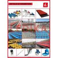 China Latest OEM Sports Seating Deluxe Football Metal Aluminum Stadium Bleachers wholesale