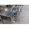 China Automatic Ozone Air Bubble Vegetable Washing Machine For Tomato Celery Salad wholesale
