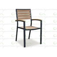 China Outdoor Dining Chairs Synthetic Timber Furniture Restaurant Polywood Chair wholesale