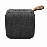 China Outdoor Portable Stereo Fabric Speaker with HD Audio Enhanced Bass TF Card BT Speaker wholesale