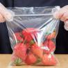 "China 6"" X 6"" Seal Top Plastic Bags , Clear Colour Custom Printed Plastic Food Bags wholesale"