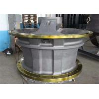 China Cone Crusher Bottom Shell / Alloy Steel Upper Shell With Heat Treatment wholesale