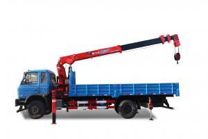 China SQ8S4 8 Ton Straight Arm Truck Mounted Crane wholesale