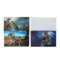 China Lenticular Image Printing 3D Lenticular Postcard Personalized Design wholesale