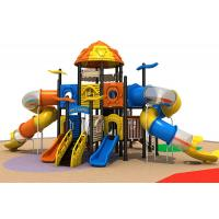 China Creez fun castle outdoor tube slide playground equipment for children with factory price wholesale
