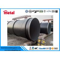 China API 5L X52 3LPE Coated Steel Pipe DN600 SCH 40 Thickness LSAW For Liquid wholesale