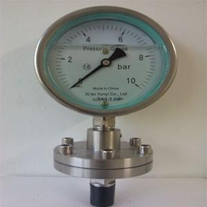 China Diaphragm-seal Pressure Gauge wholesale