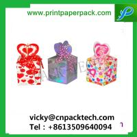 China Custom Colorful Ribbon Decorative Packaging Flower Box Candy Gift Cardboard Box wholesale