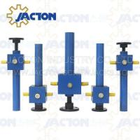 China SWL worm lifter elevators sale SWL worm lifting elevators manufacturers Low price hydraulic worm gear screw jack on sale