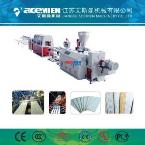 China Hot Stamping Laminating PVC Ceiling Machine , PVC Wall Panel Making Machine wholesale