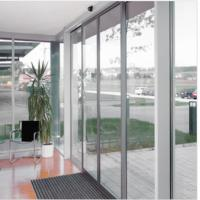 China Slender fine-frame profiles Commercial Automatic sliding doors system 4800*4200mm wholesale