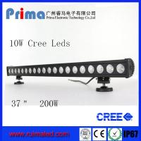 "China 37"" 200W Cree Led Light Bar! Single Row Light Bar for Jeep SUV 4X4 wholesale"