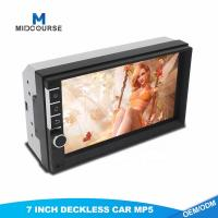 China 7 Inch  Double Din Head Unit With Navigation Mp5 Media Player With Bluetooth wholesale