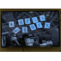 China Covert Pin Hole Camera With Monitoring System For Blackjack Gambling Game wholesale