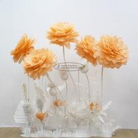 China New Paper Camellia Tissue Paper Pom Poms Craft Party Decoration wholesale