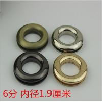 China Wholesales high quality different color zinc alloy 19 mm round metal screw eyelets for handbags wholesale