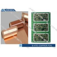China Single Shiny Heavy ED PCB Copper Foil 1/4OZ ~ 3OZ 1295mm×1295mm wholesale